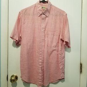 Haggar Short Sleeve Button-down
